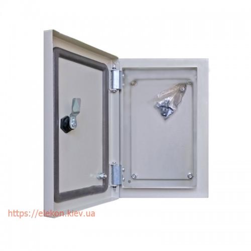 Навесные металлические монтажные ящики c монтажной панелью IP54