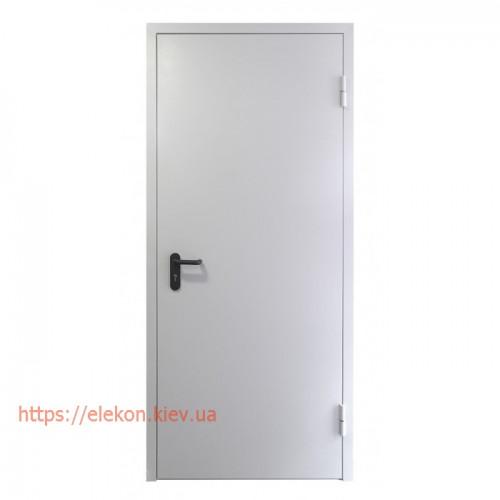 Двери противопожарные металлические однопольные ЕІ60, 2100х800